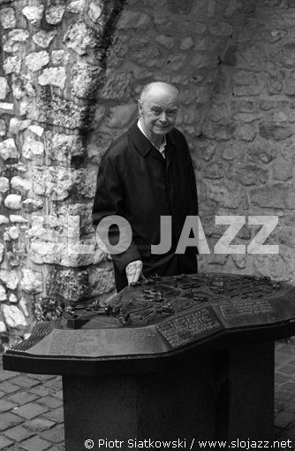 LESLAW LIC Krakow jazz clarinet piano player swing musician music master portrait photography slojazz Piotr Siatkowski