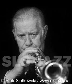 WILD BILL DAVISON jazz cornet player dixieland Chicago Eddie Condon New Orleans image slojazz photo Piotr Siatkowski