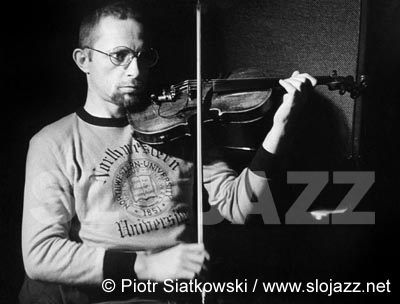 ZBIGNIEW SEIFERT violinist Polish jazz photography Piotr Siatkowski Poland Krakow Solo Violin Man of the Light Passion Tomasz Stanko Quintet free jazz rock fusion improvisation John Coltrane alto saxophone player classical Cracow Music Academy live concert image slojazz.net
